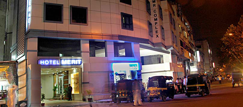 Hotel Merit is located opposite to Railway Station in Surat